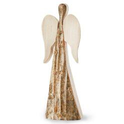 Rustic Wood Angel Figurine (XX-Small)
