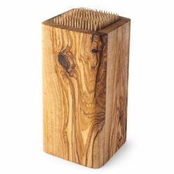 Slotless Wood Knife Block