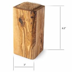 Wood Knife Block Slotless