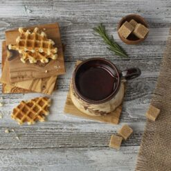 Wooden Coasters Set, Set of 4 - Square