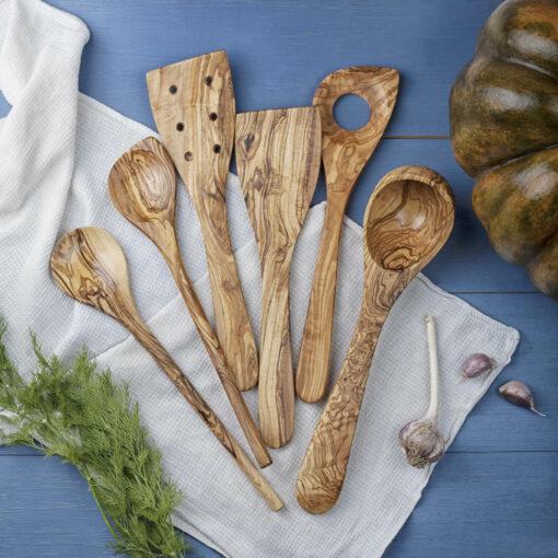 Wood Kitchen Utensils Set (6-Piece set)