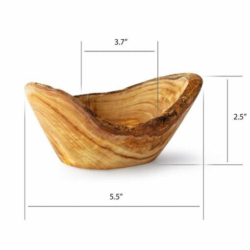 Wooden Dish Round