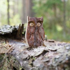 Owl Figurine in the Tree