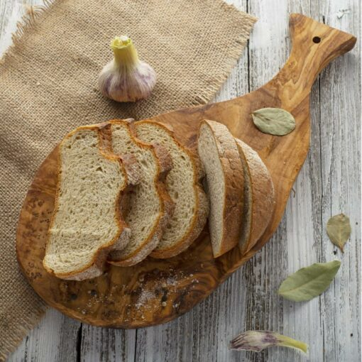 Wooden Bread Serving Board