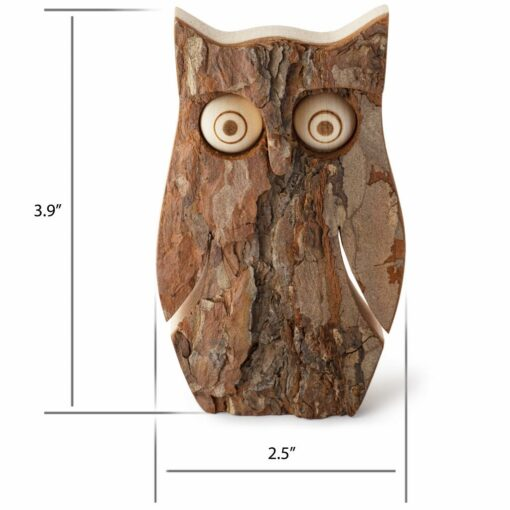 Owl Figurine for Office Decor Size